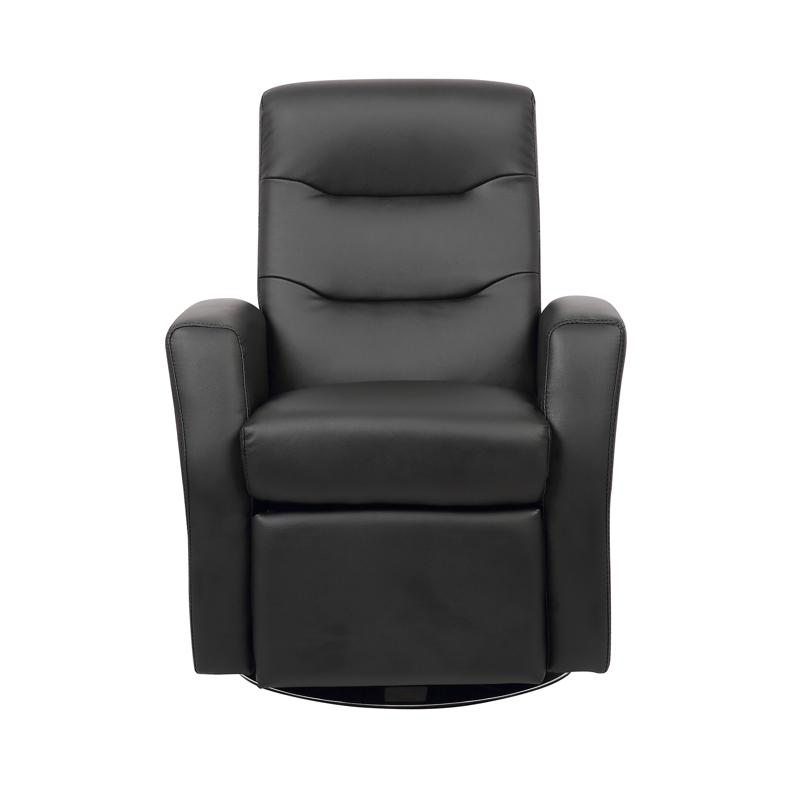 Kids reclining swivel chair living room furniture padded for Kids chair leather
