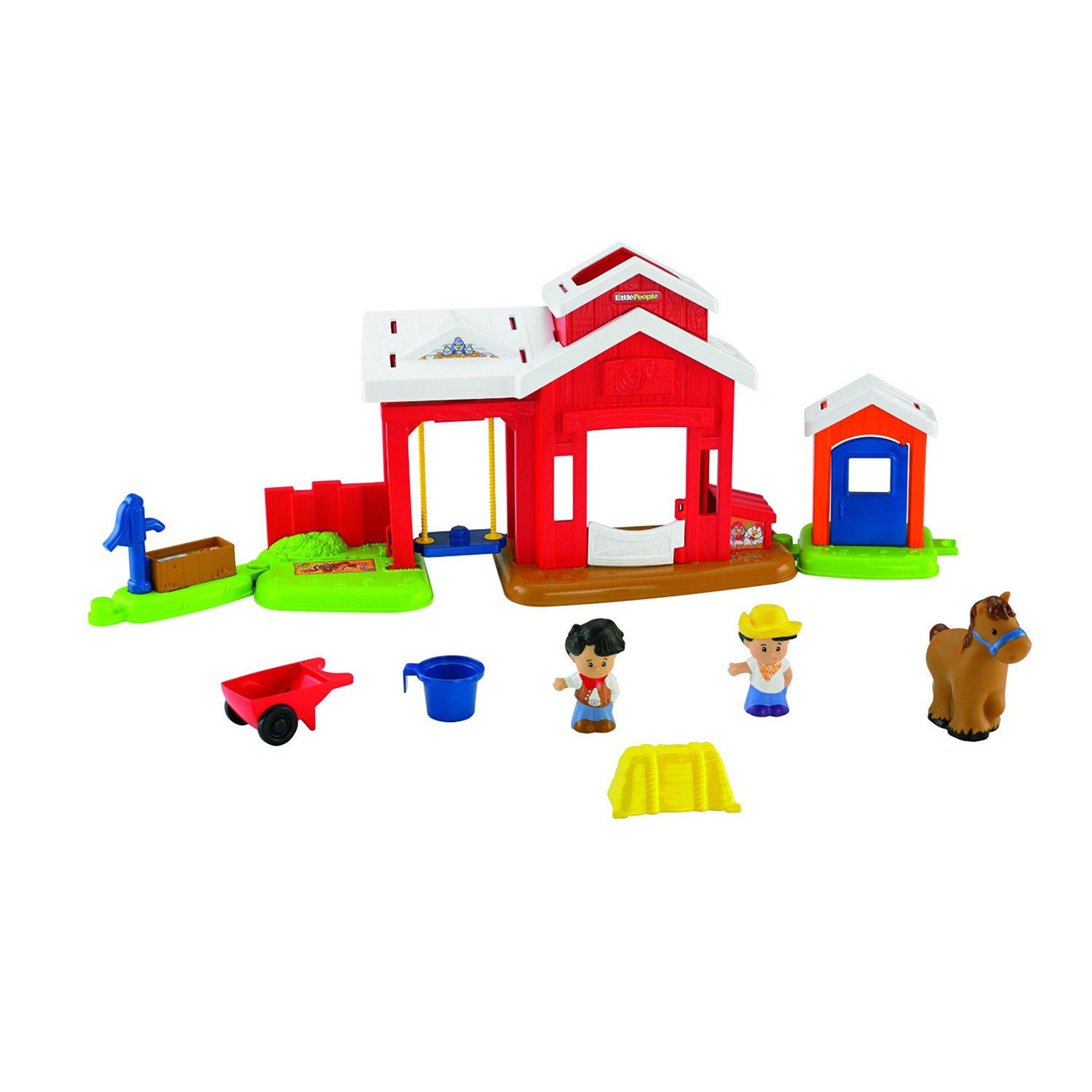 Farm Toddler Toys Age Two : Fisher price little people stable farm playset kids