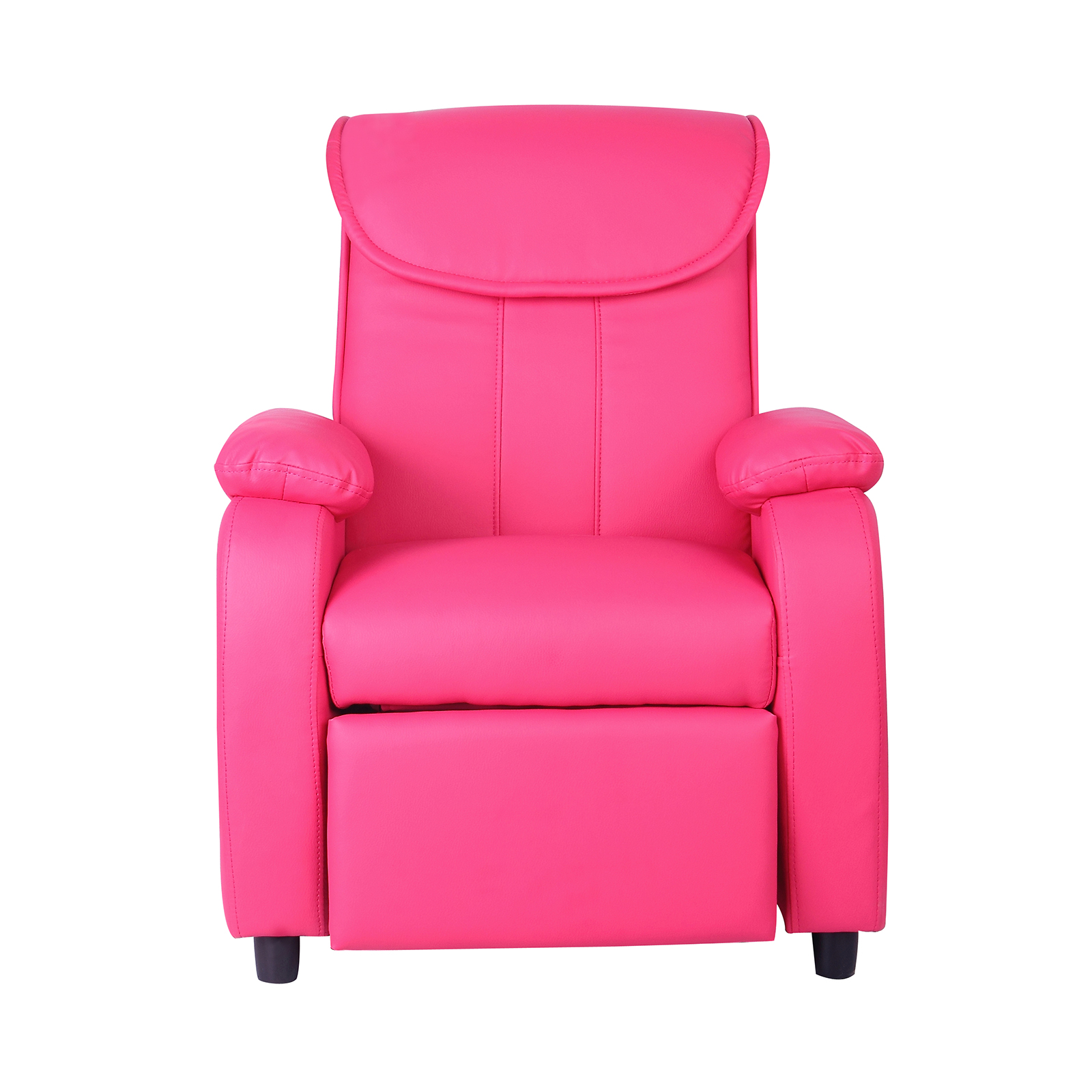 Childrens Luxury Recliner Chair fy Faux Leather Armchair