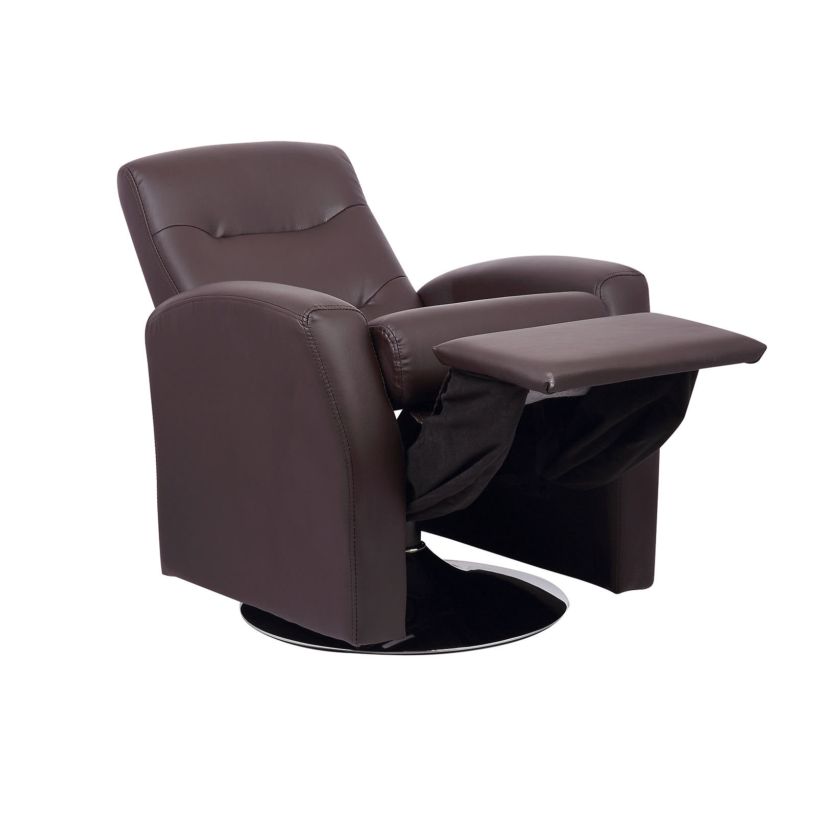 Childrens luxurious recliner chair with swivel action seat for Kids chair leather