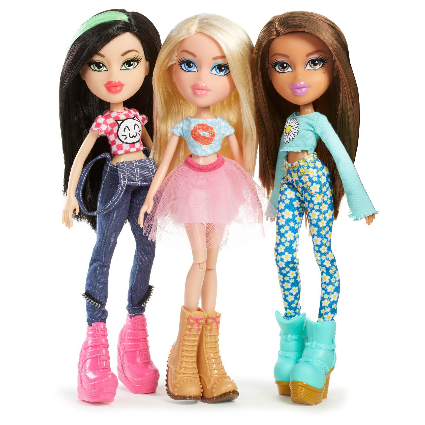 Bratz Remix Doll Cloe Jade Yasmin Fashion Girls Headphones Playlist Music Play Ebay