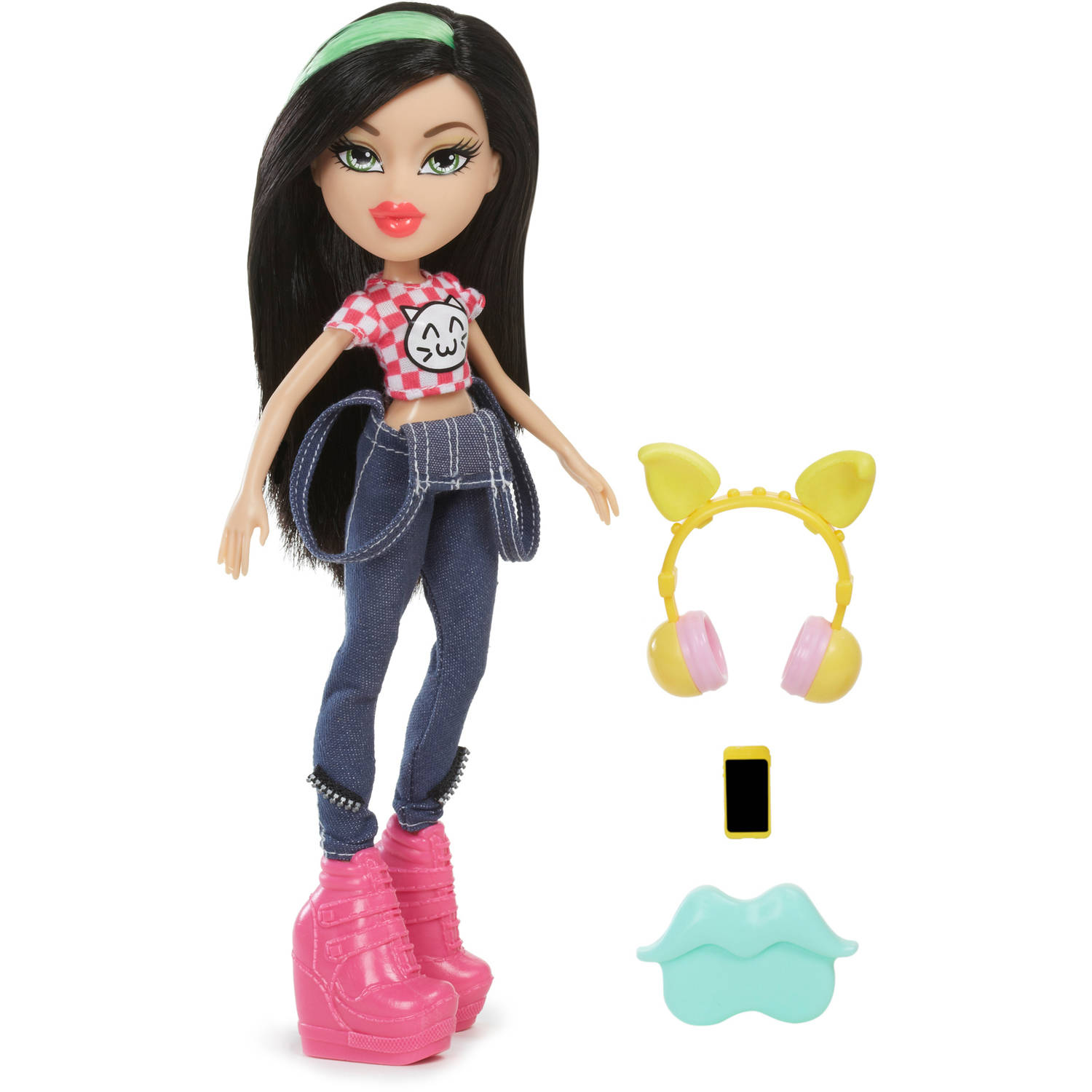 Bratz Remix Doll Cloe Jade Yasmin Fashion Girls Headphones ...