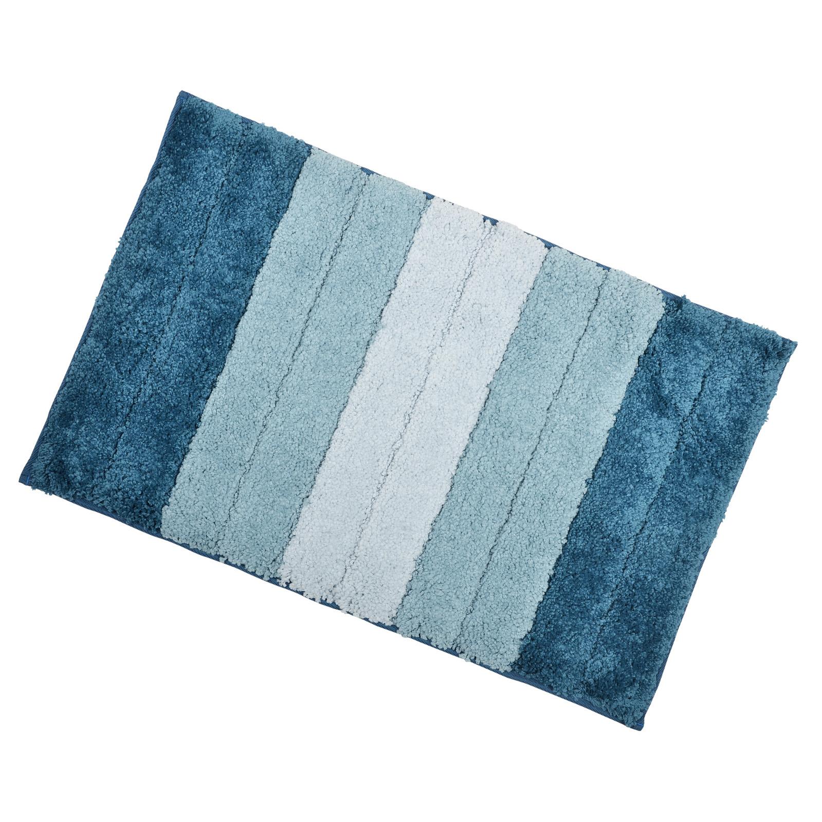 soft tufted microfibre bathroom shower bath mat rug non slip back 12 colours. Black Bedroom Furniture Sets. Home Design Ideas