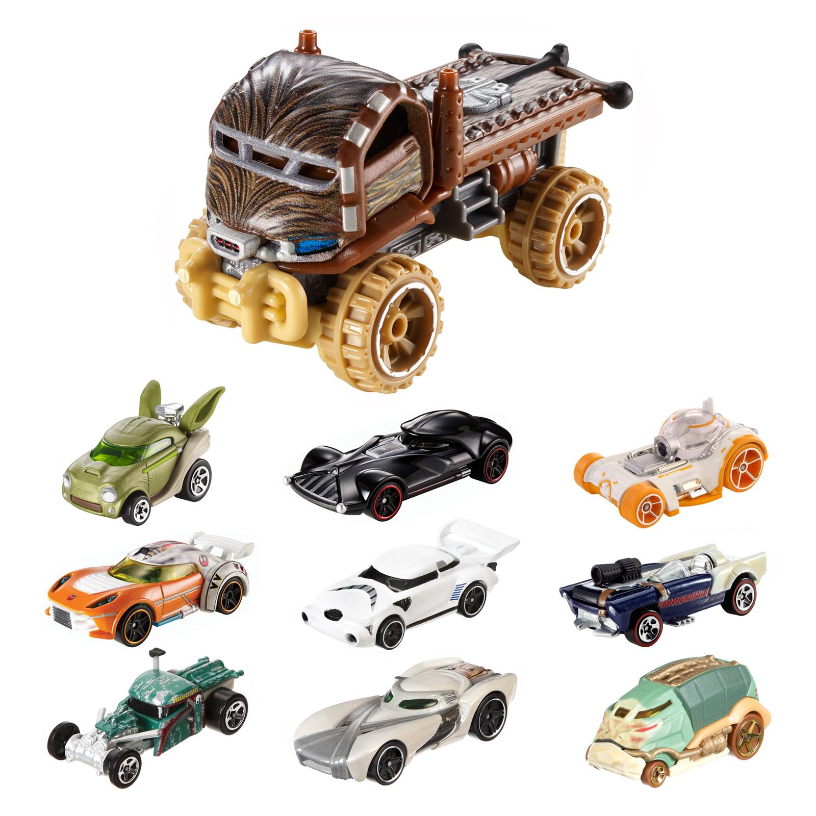 Star Wars Characters Toys : Hot wheels disney star wars die cast character car vehicle