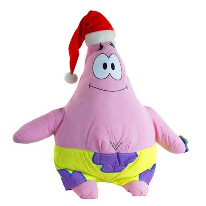 21u0026quot; Xmas Christmas Patrick Star Spongebob Soft Toy