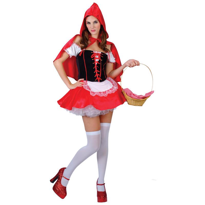 Костюм на взрослых красная шапочка своими руками
