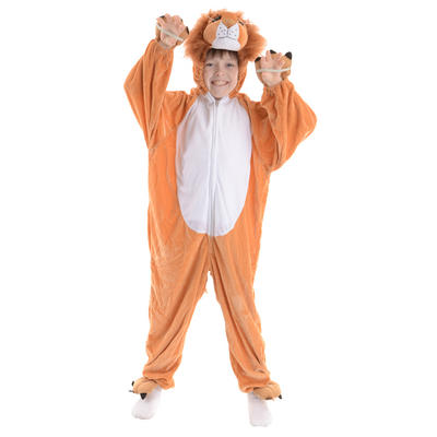 Animal Fancy Dress Costume Children's Boogie Woogie Lion Ages 3-13 Sizes Small-XXLarge