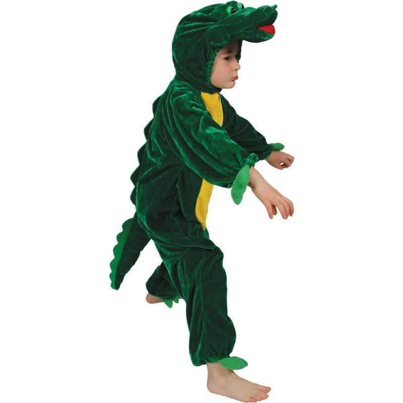 Animal Fancy Dress Costume Children's Boogie Woogie Crocodile Ages 3-13 Sizes Small-XXLarge Preview