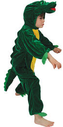 Animal Fancy Dress Costume Children's Boogie Woogie Crocodile Ages 3-13 Sizes Small-XXLarge Thumbnail 2