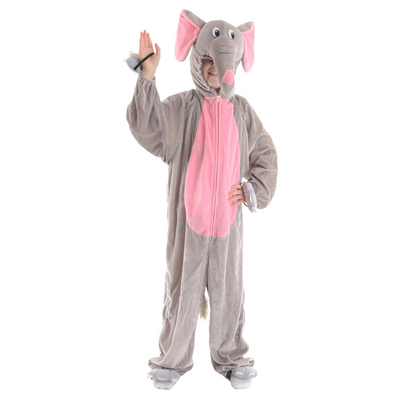 Childrens Boogie Woogie Adorable Elephant One Piece Cute Fancy Dress Costume Preview