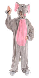 Childrens Boogie Woogie Adorable Elephant One Piece Cute Fancy Dress Costume Thumbnail 2
