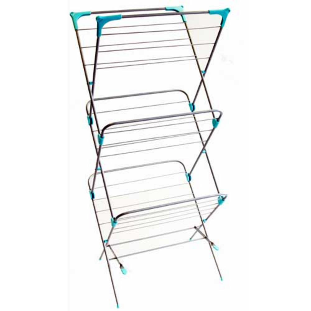 3 Tier Laundry Airer Indoor Dryer Clothes Washing Folding