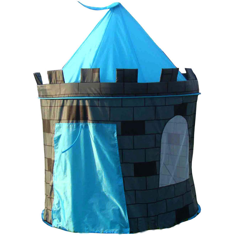 Kids boys blue prince castle indoor outdoor play tent new preview