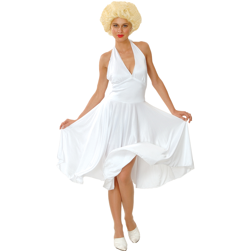 marilyn monroe hollywood star fancy dress costume ebay. Black Bedroom Furniture Sets. Home Design Ideas