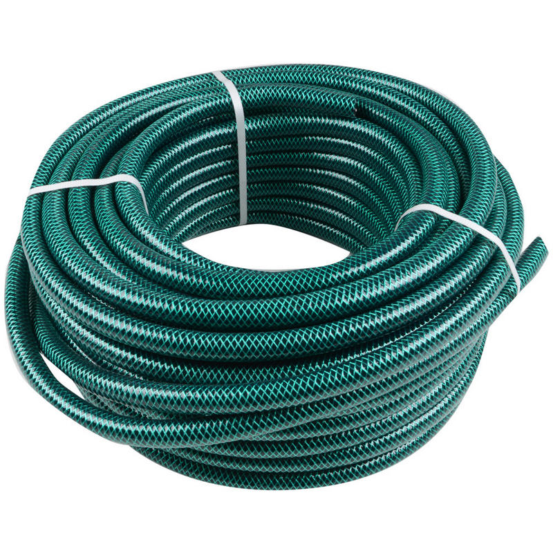 Green Jem 30m Length Braided Green Garden Hose Pipe