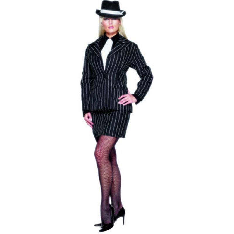 Smiffys Sexy Gangster Zoot Suit Fancy Dress Costume Preview
