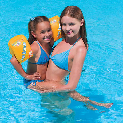 "Bestway Kids Swim Safe Inflatable Swimming Pool Armbands 10"" x 6"" New"