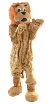 Wicked Giant Lion Full Body Mascot Charity and Sports Events Fancy Dress Costume