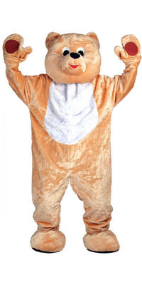Teddy Bear Giant Full Body Mascot Charity and Sports Events Fancy Dress Costume