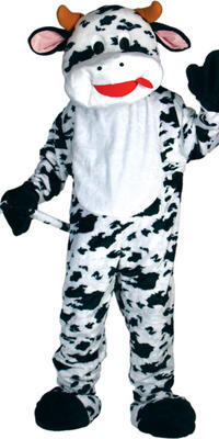 Cow Giant Full Body Mascot Charity and Sports Events Fancy Dress Costume