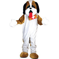 St Bernards Dog Giant Full Body Mascot Charity and Sports Events Fancy Dress Cos