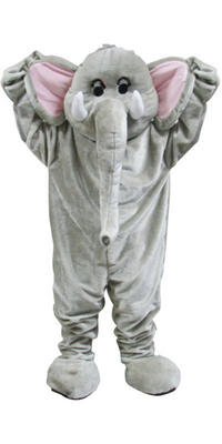 Elephant Giant Full Body Mascot Charity and Sports Events Fancy Dress Costume