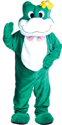 Frog Giant Full Body Mascot Charity and Sports Events Fancy Dress Costume