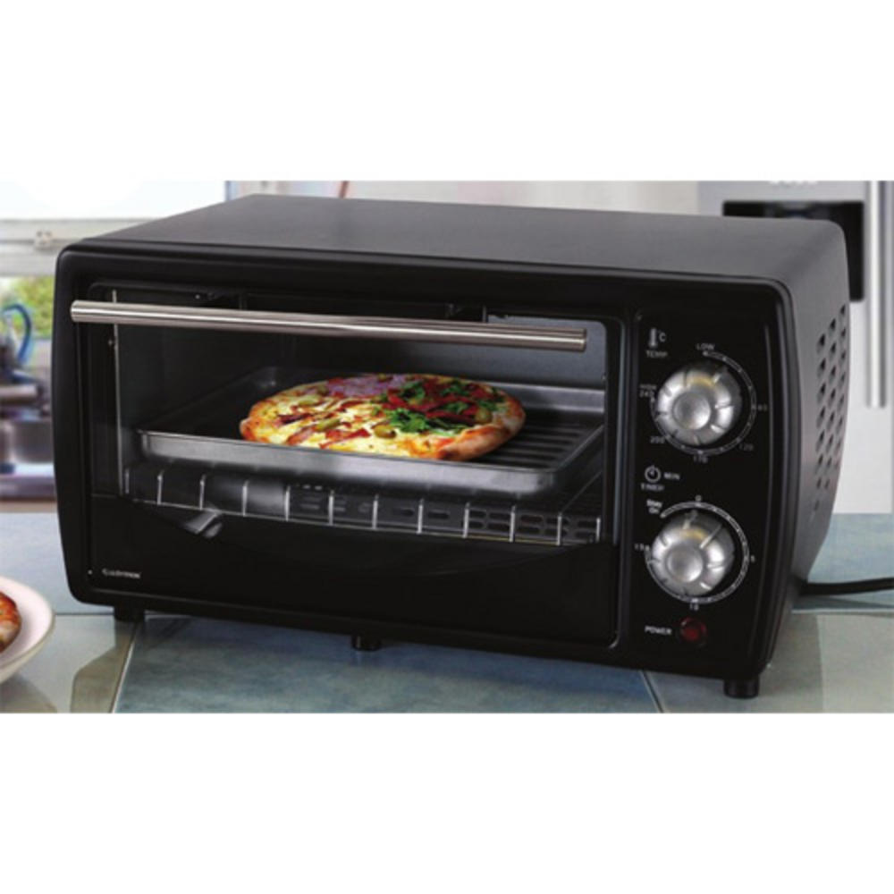 lloytron table top electric mini oven grill black new. Black Bedroom Furniture Sets. Home Design Ideas