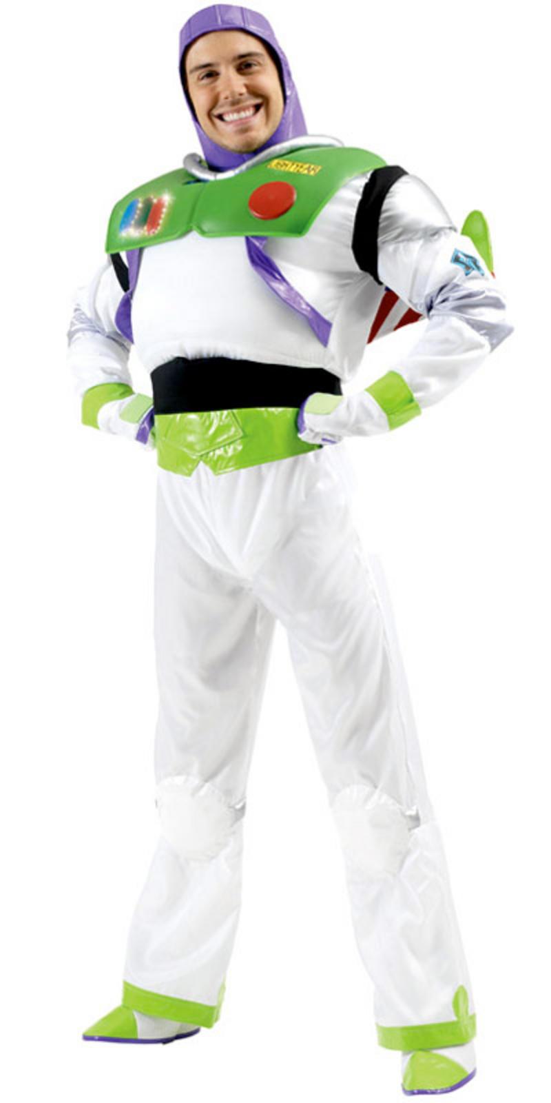 Original toy story buzz lightyear fancy dress halloween party costume for Comcostume halloween homme original