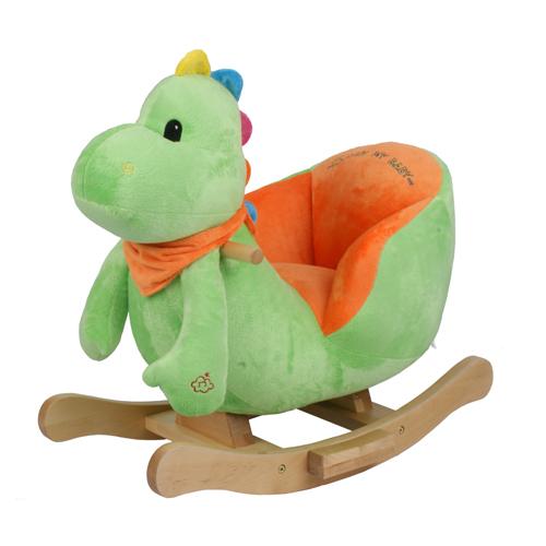 Baby Animal Rocking Chair With Music Dino Dinosaur Ebay