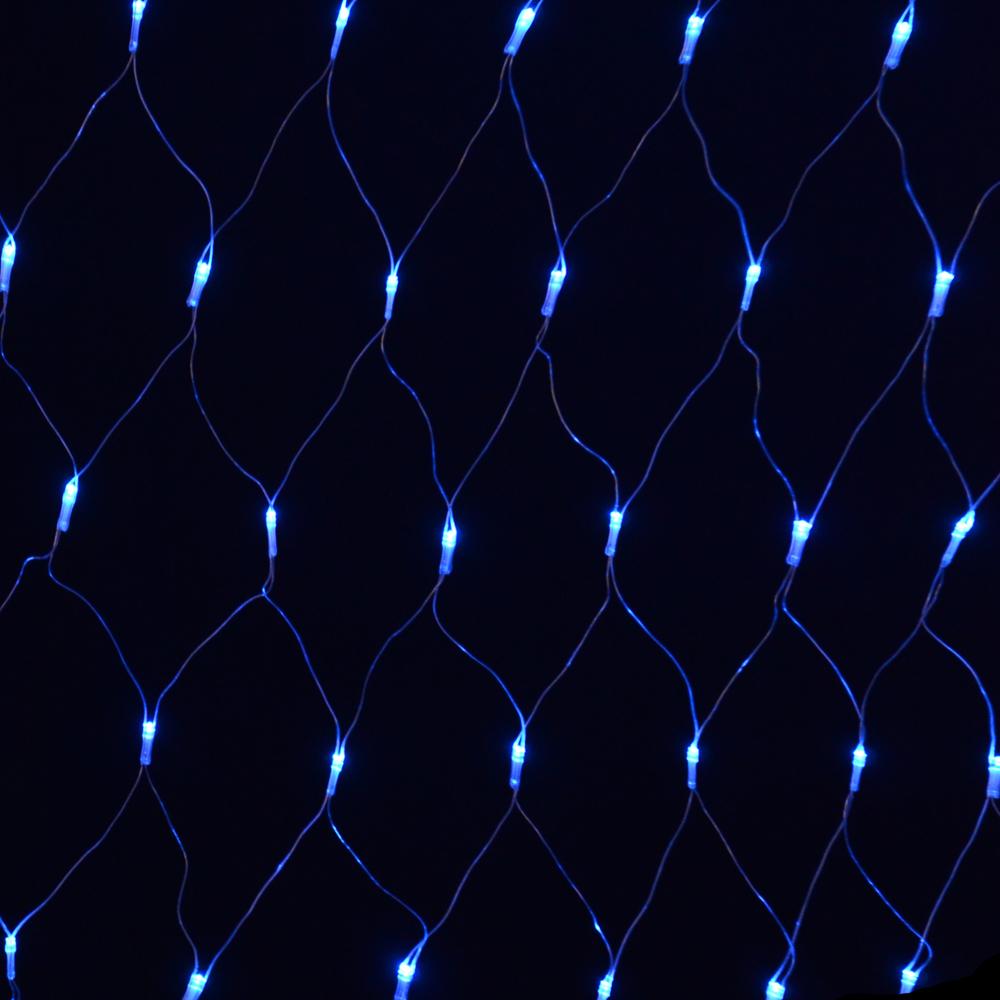 180 Bulb Multi Action Blue Festive Net Light Indoor Outdoor Christmas Light