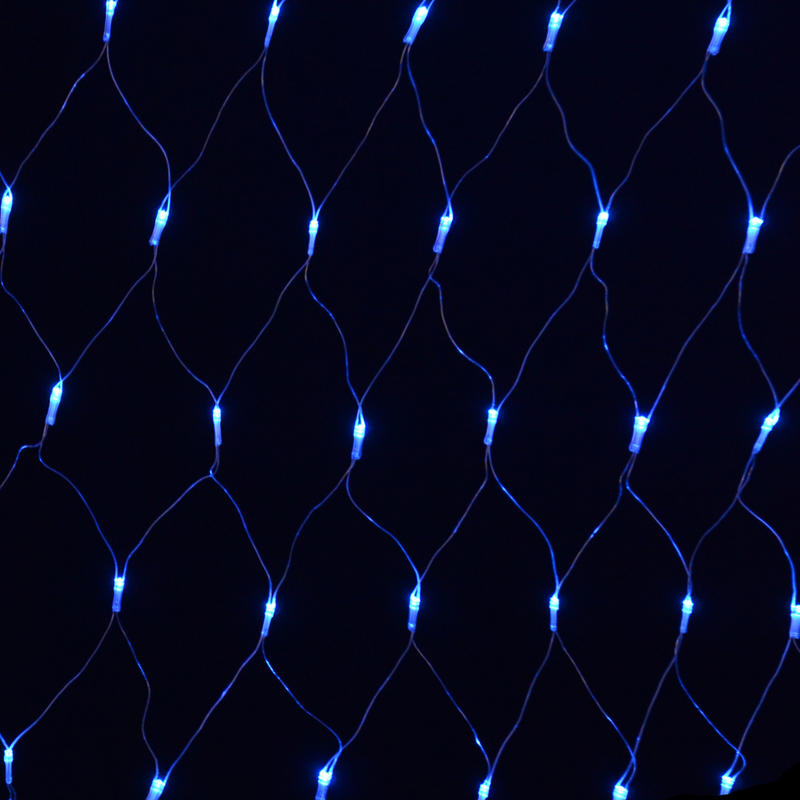 180 Bulb Multi Action Blue LED Net Light Indoor And Outdoor Use Christmas Fai