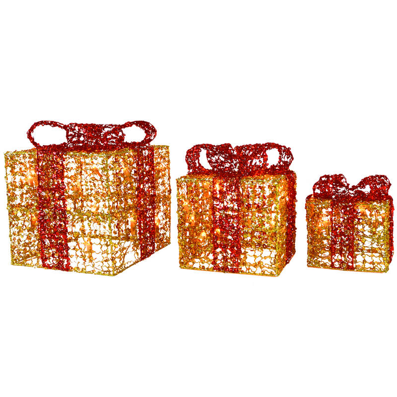 light up gift box christmas decoration decorative christmas boxes light up wanker for 67