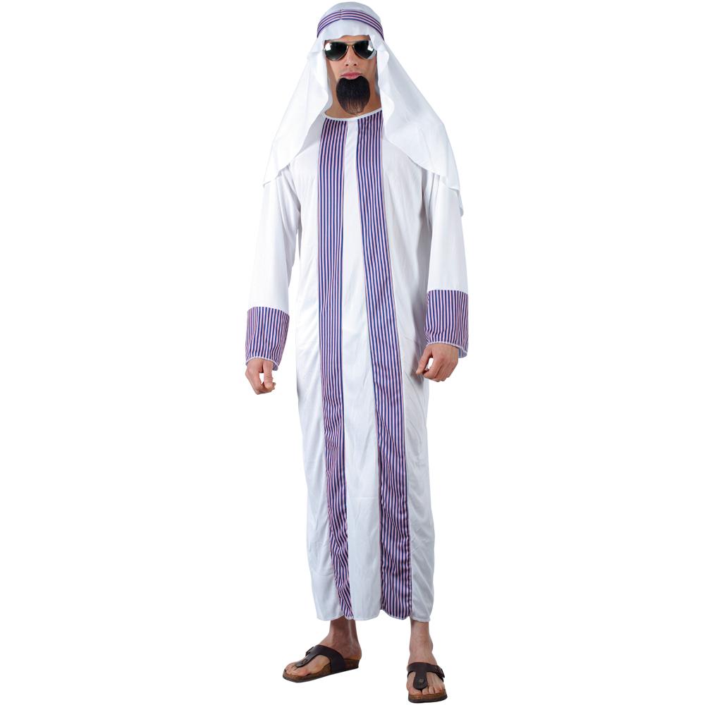 Mens Arab Sheik Style Fancy Dress Halloween Costume | eBay