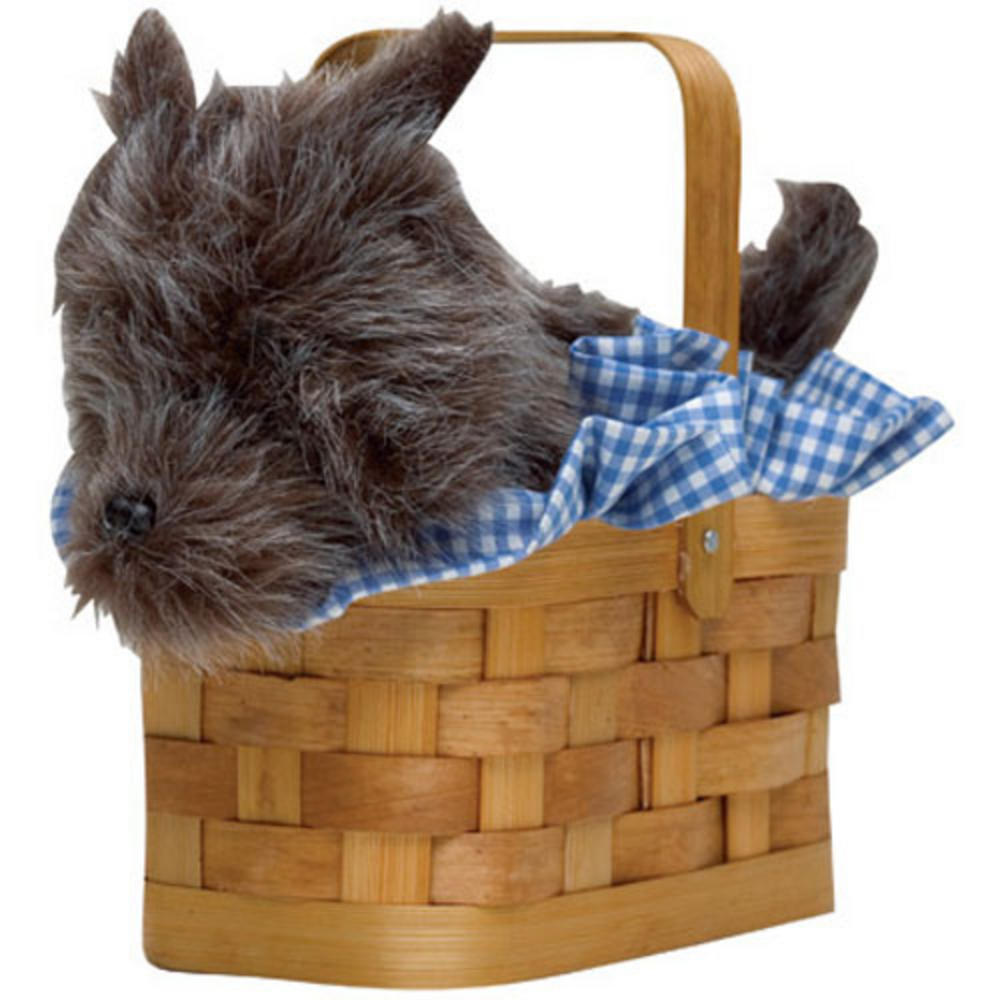 Brilliant Handbag Wicker ToTo Dog In Basket To Go With Dorothy Wizard Of Oz Movie Fancy Dress Accessory Preview