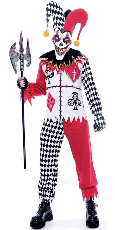 Joker's Masquerade Fancy Dress - Home