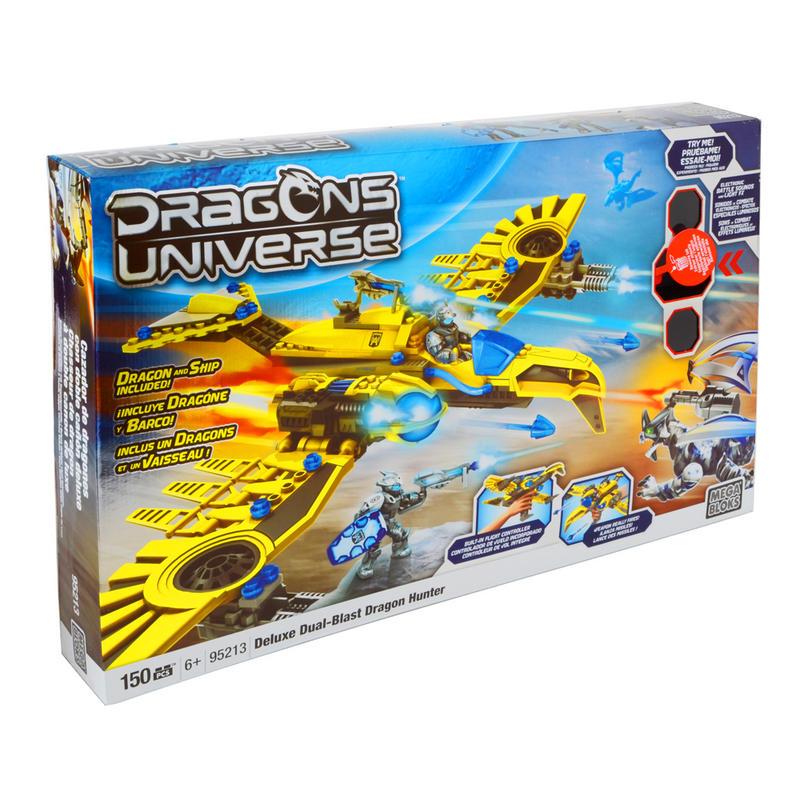 Mega Bloks Dragon Universe Deluxe Dual