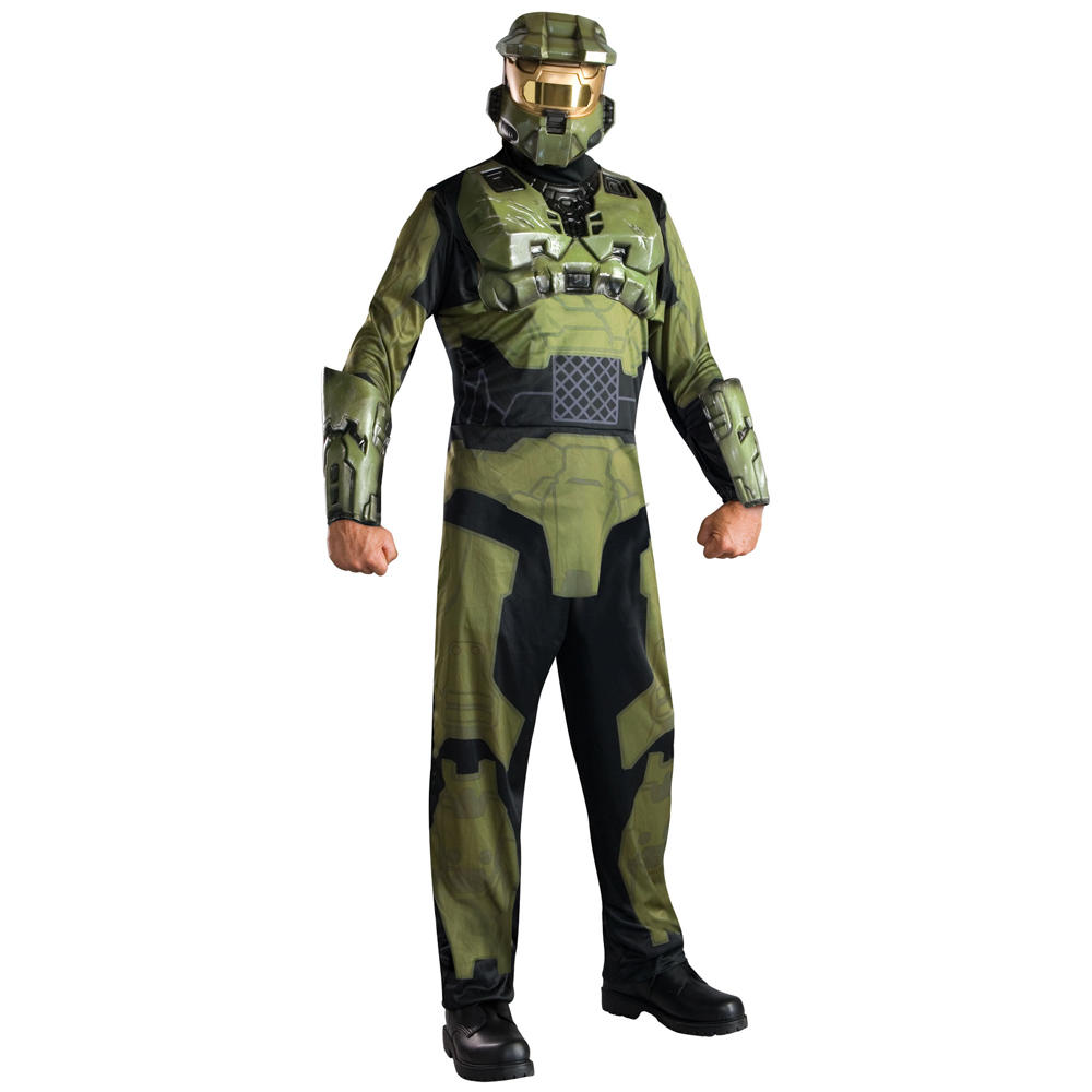halo 3 wars master chief fancy dress halloween costume. Black Bedroom Furniture Sets. Home Design Ideas