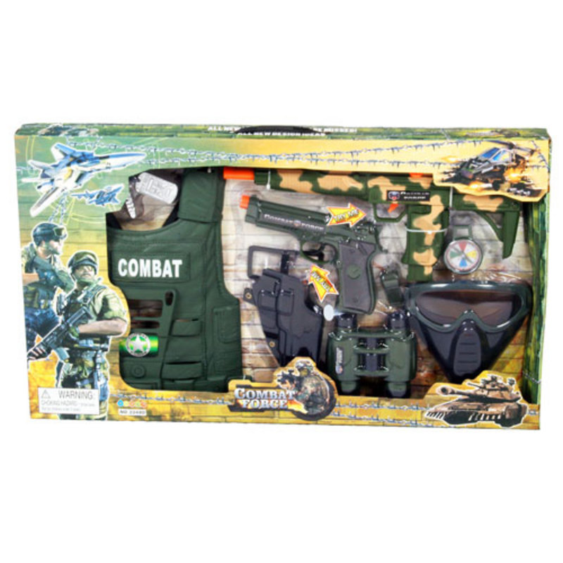 Army Toys For Boys : Brilliant boys quot combat force army soldier accessory toy