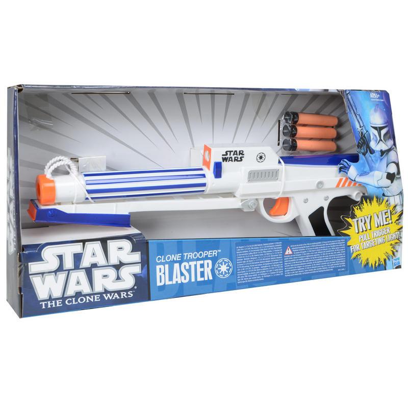 Star Wars Toy Guns : Star wars the clone trooper electronic blaster
