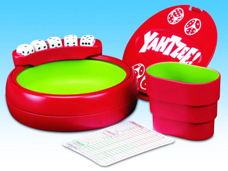 Original Hasbro Yahtzee Dice Scoring Poratble Travel Game