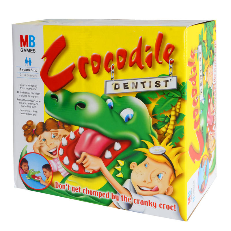 MB Games Hasbro Kids Multiplayer Board Game Crocodile Dentist Ages 4+ Preview
