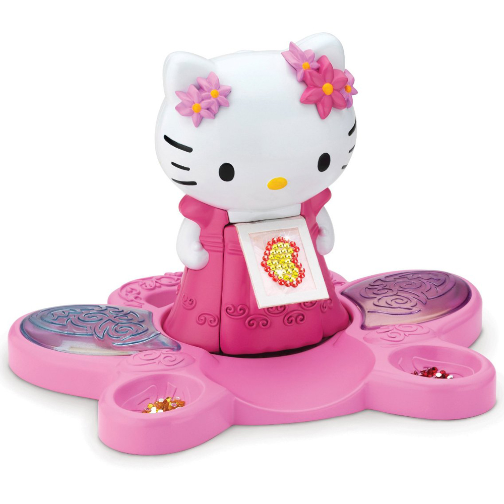 Hello Kitty Toy Car For Girls : Original hello kitty crystal creation kit play set craft