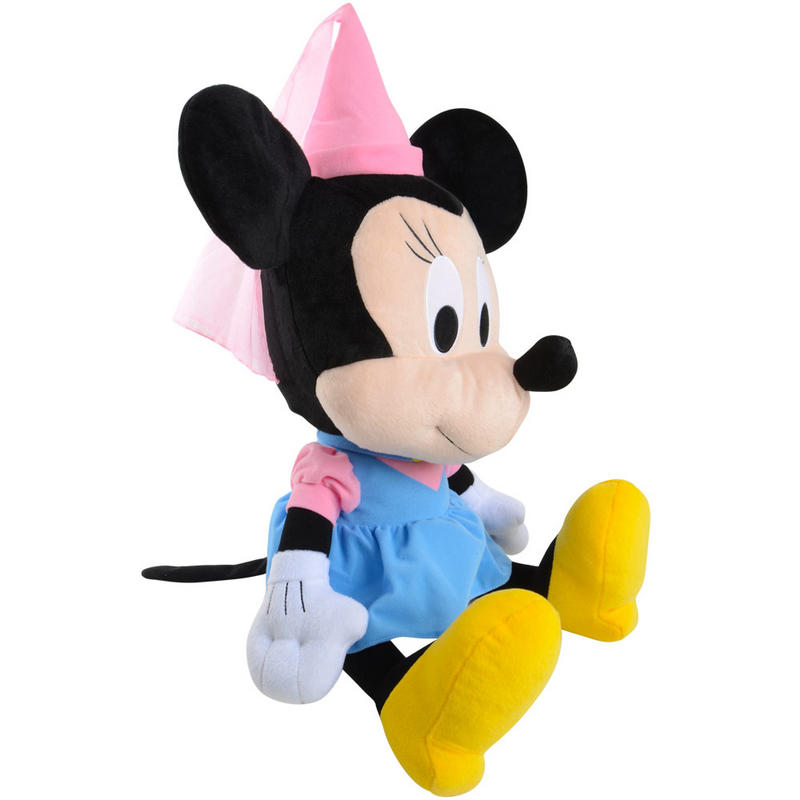 Mouse Sitting up Minnie Mouse Dressed up as