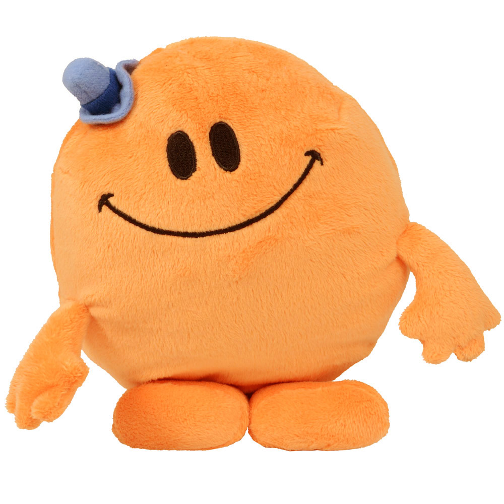 Group Of Smiling Soft Toy Character