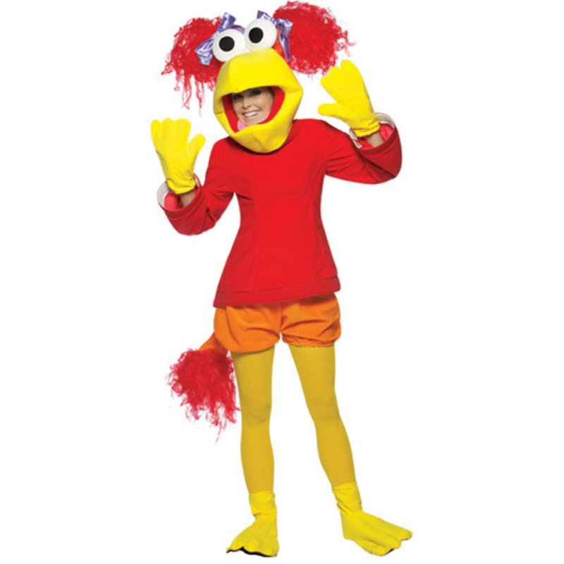 Fraggle Rock Red Adult Fancy Dress Halloween Costume Preview
