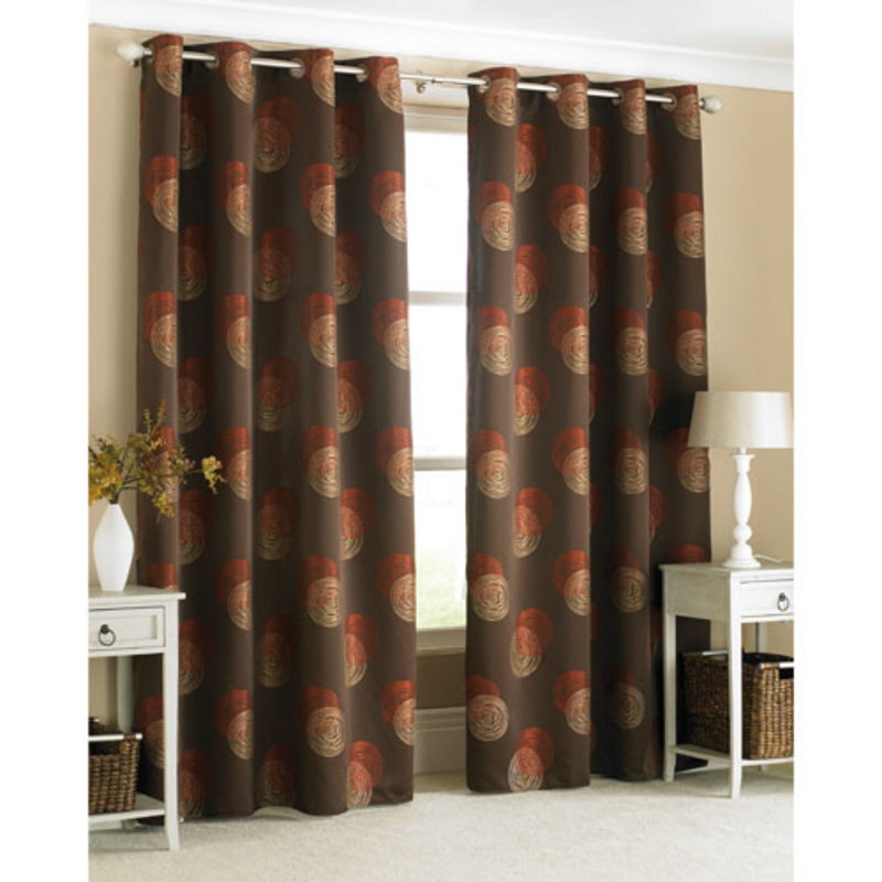 Brown And Blue Window Curtains Brown and Burnt Orange Wallpa