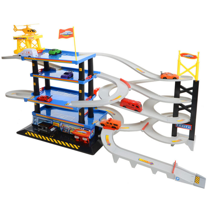 Plan Toys Parking Garage Wooden Set