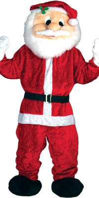 Santa Claus Giant Mascot Fancy Dress Costume Ideal For Christmas