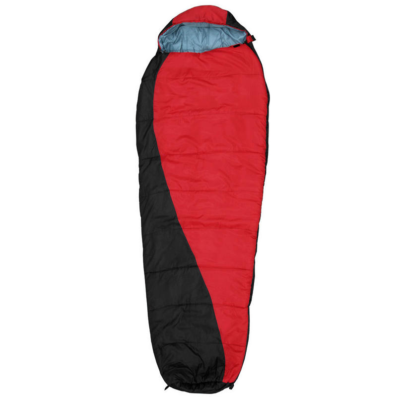 XL Azuma Festival Camping Black Red Mummy Shape Sleeping ...